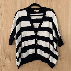 Michael Kors striped baggie sweater